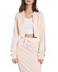 Juicy Couture - Logo Patch Tricot Jacket - Lyst