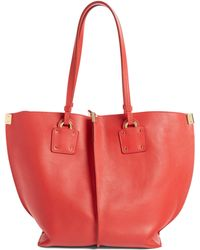 Chloé - Vick Leather Tote - Lyst