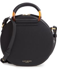 Kurt Geiger - Harriet Leather Circle Crossbody Bag - - Lyst