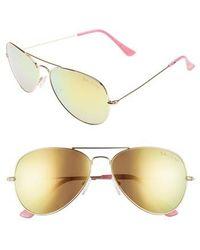 Lilly Pulitzer | Lilly Pulitzer Lexy 59mm Polarized Aviator Sunglasses | Lyst