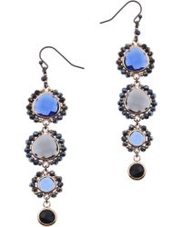 Nakamol - Stone Linear Drop Earrings - Lyst
