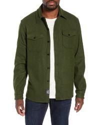 5ba69a0a7 Schott Nyc - Cpo Wool Blend Work Shirt - Lyst