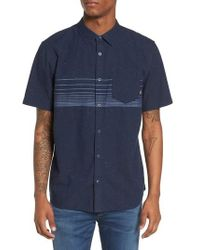 Vans - Gillis Woven Shirt - Lyst