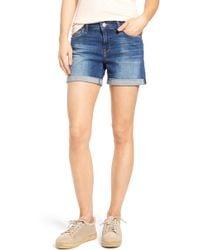 Mavi Jeans - Marla Roll Cuff Denim Shorts - Lyst