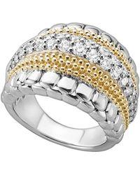 Lagos - Diamond Lux Ring - Lyst