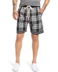 Represent - Tartan Drawstring Shorts - Lyst