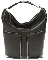AllSaints - Fetch Leather Backpack - Lyst