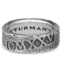David Yurman - Shipwreck Band Ring - Lyst