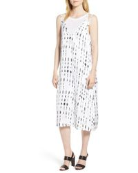 Kenneth Cole - Kenneth Cole Two-layer Tank Dress - Lyst