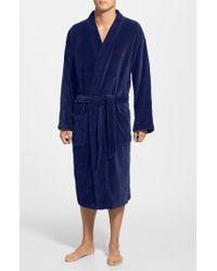 Polo Ralph Lauren - Velour Kimono Robe - Lyst