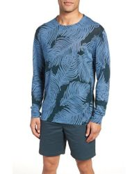 Bonobos - Palm Print Linen Sweater - Lyst