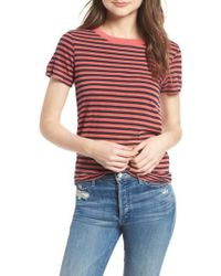 Stateside - Stripe Cotton Boy Tee - Lyst
