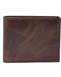 Fossil - 'derrick' Rfid Leather Bifold Wallet - - Lyst