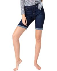 Liverpool Jeans Company - Chloe Pull-on Bermuda Shorts - Lyst