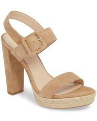 Pelle Moda - Paloma Platform Sandal - Lyst