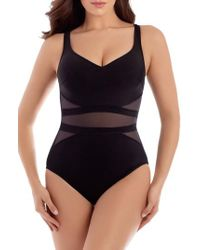 Miraclesuit | Miraclesuit Illusionist It's A Cinch One-piece Swimsuit | Lyst