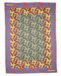 Stella McCartney - Tropical Floral Print Silk & Modal Scarf - Lyst