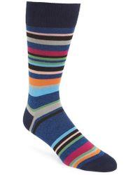 Paul Smith - Aster Stripe Socks - Lyst