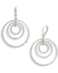 Nina - Orbital Drop Earrings - Lyst