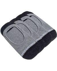 Hook + Albert - 4-pack Liner Socks, Grey - Lyst