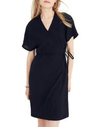 Madewell - Gauze Wrap Dress - Lyst