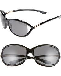 bd7297016b64 Tom Ford - Jennifer 61mm Polarized Open Temple Sunglasses - - Lyst