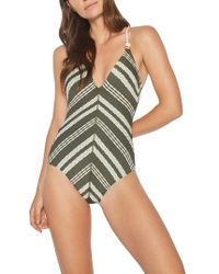 Robin Piccone | Livvy One-piece Swimsuit | Lyst