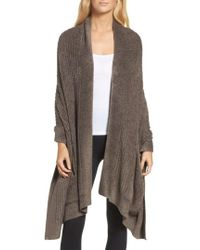 Barefoot Dreams - Barefoot Dreams Cozychic Lite Travel Shawl - Lyst