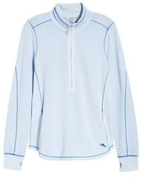 Tommy Bahama - Jen And Terry Half Zip Top - Lyst