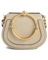 Chloé - Small Nile Bracelet Leather Crossbody Bag - Lyst
