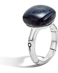 John Hardy - 'bamboo' Semiprecious Stone Ring - Lyst