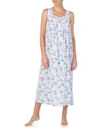 Eileen West - Woven Nightgown - Lyst