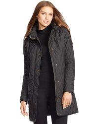 Lauren by Ralph Lauren - Quilted Jacket - Lyst