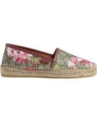 Gucci - GG Blooms Supreme Espadrille - Lyst