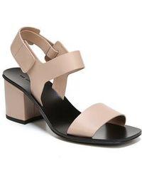 Via Spiga | Kamille Block Heel Sandal | Lyst