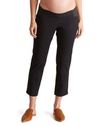 e727eda2cbcd2 Lyst - Ingrid & Isabel Maternity Drawstring Lounge Pants in Black