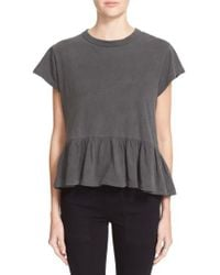 The Great | The Ruffle Tee | Lyst