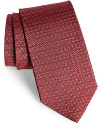 Ferragamo - Elisir Print Silk Tie - Lyst