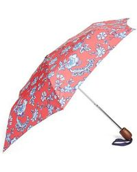 Joules - Right As Rain Print Umbrella - Lyst