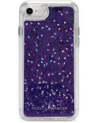 Rebecca Minkoff - Galaxy Glitter Iphone 7/8 & 7/8 Plus Case - - Lyst