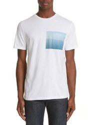 A.P.C. - Seaview Print Pocket T-shirt - Lyst