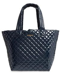 MZ Wallace | 'medium Metro' Quilted Lacquer Tote | Lyst