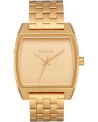 Nixon - Time Tracker Bracelet Watch - Lyst