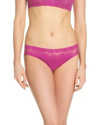 Natori - Bliss Perfection Bikini - Lyst