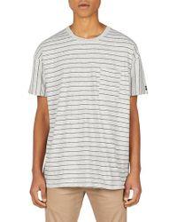 Zanerobe - Stripe Rugger T-shirt - Lyst