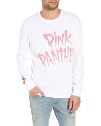 ELEVEN PARIS - Pink Panther Graphic Long Sleeve T-shirt - Lyst