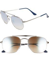 Ray-Ban - Marshal 54mm Aviator Sunglasses - Lyst