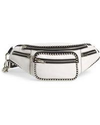 f3095b4b858 Lyst - Alexander Wang Large Attica Soft Leather Belt Bag in Black