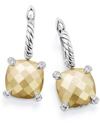 David Yurman - Chatelaine Drop Earrings With Diamonds - Lyst