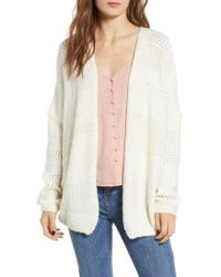 Dreamers By Debut - Open Stitch Cardigan - Lyst
